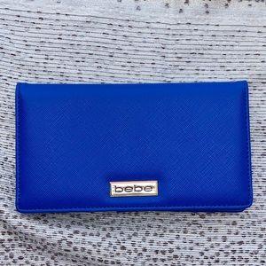 Royal Blue bebe wallet NWOT